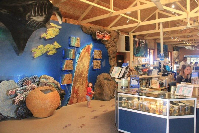 Cape Range Nat Park visitor centre