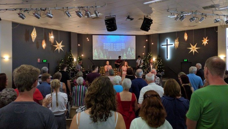 Christmas Day service Seeds Uniting Church in Aberfoyle