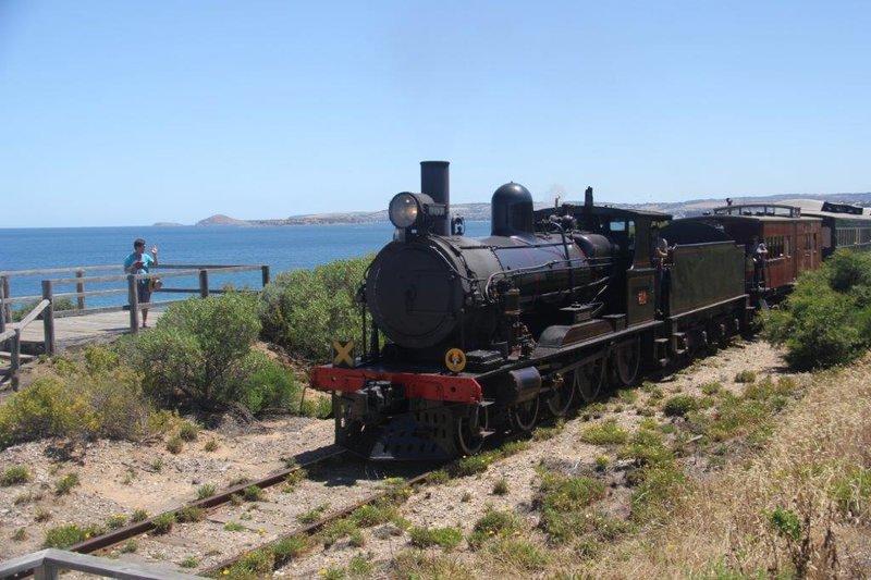 Cockle Train different locomotive