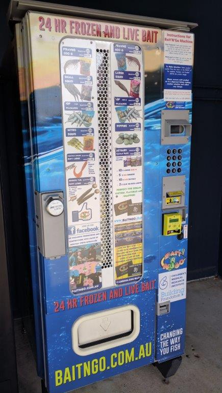 Didn't think I'd ever see a vending machine for live and frozen bait