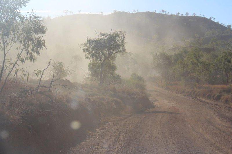 Dusty roads 200km in a day