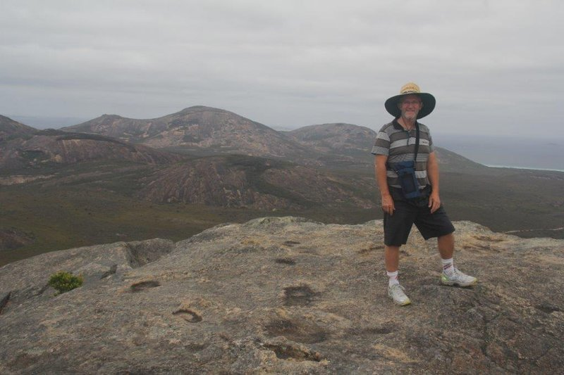 Frenchman Peak view towards Hellfire Bay