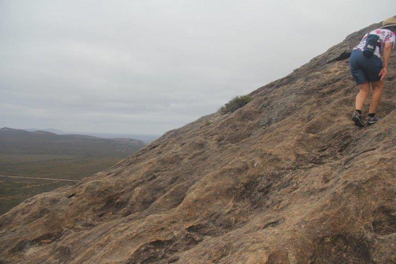 Frenchman Peak steep climb