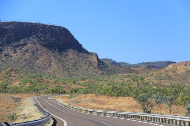 From Kununurra mountains upon mountains