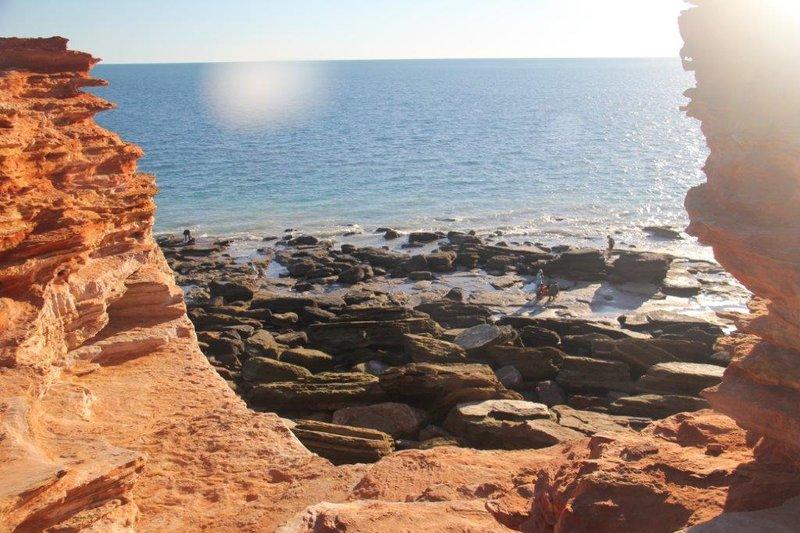 Ganthaume Point where dinosaur footprints are
