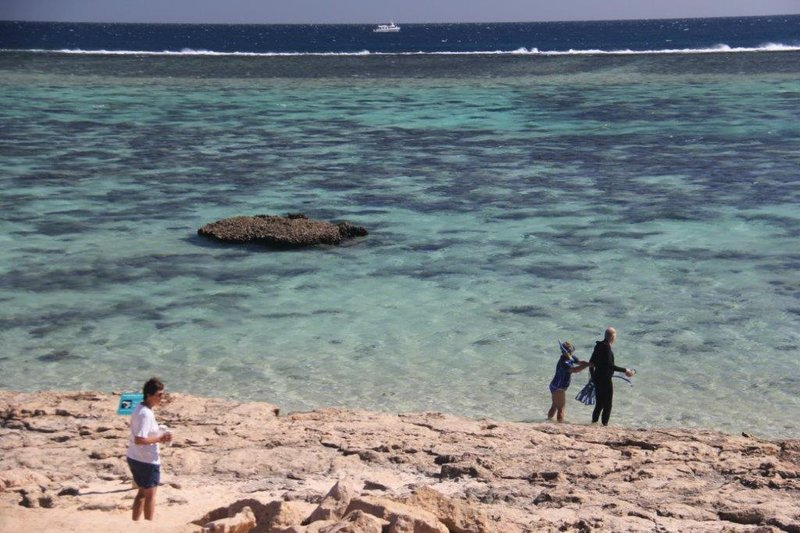 Getting ready to snorkel at Oyster Stacks