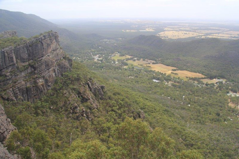 Halls Gap from up on high