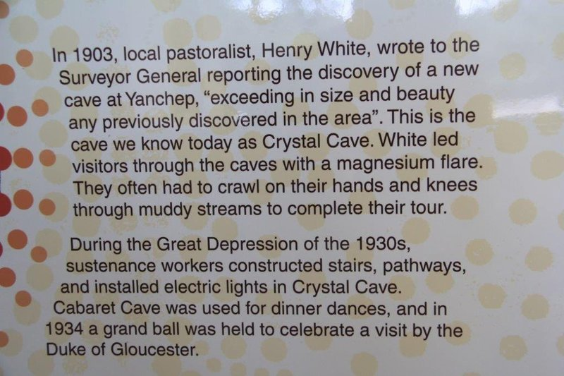 History of Crystal Cave