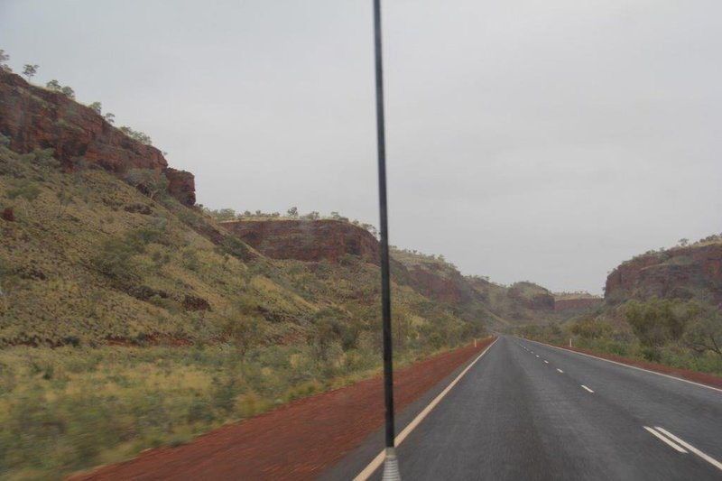 In 270km of mountainous area  97 long road trains