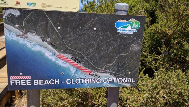 Interesting beaches