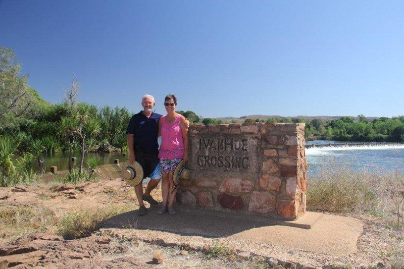 Ivanhoe Crossing where opening scene of movie Australia was shot
