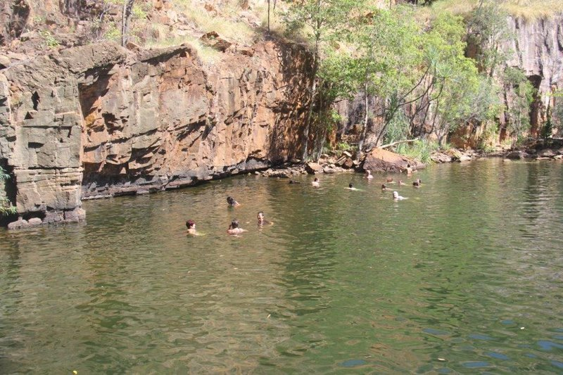 Lilly Ponds Falls with expats from Durban
