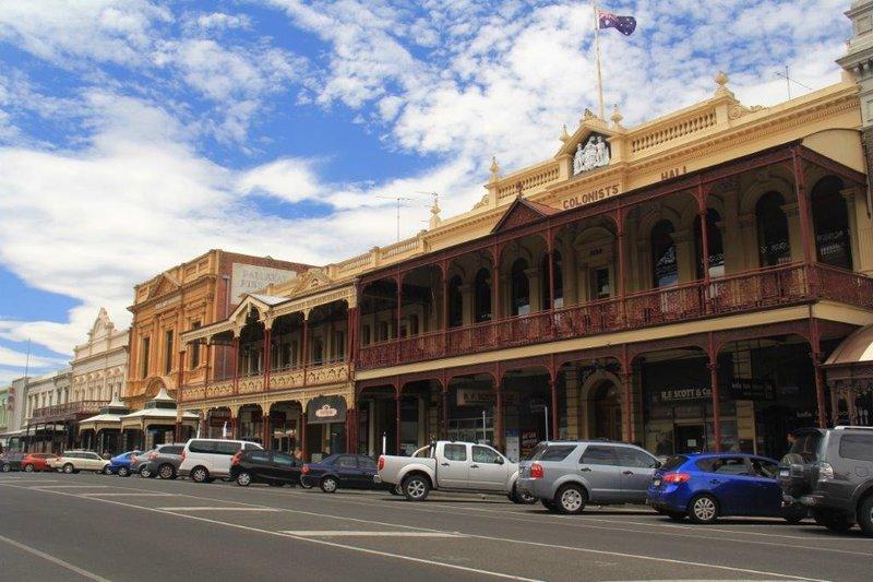 Main Street in Ballarat where some Dr Blake episodes were filmed