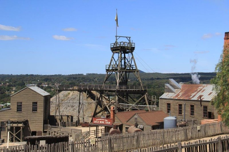 Mine with tour from 1860