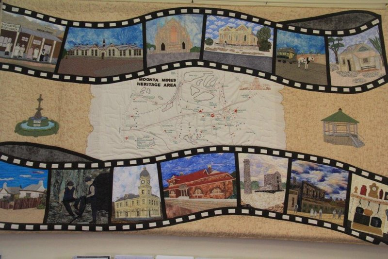 Moonta Quilt in Visitor Centre
