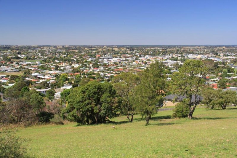 Mt Gambier from side of crater