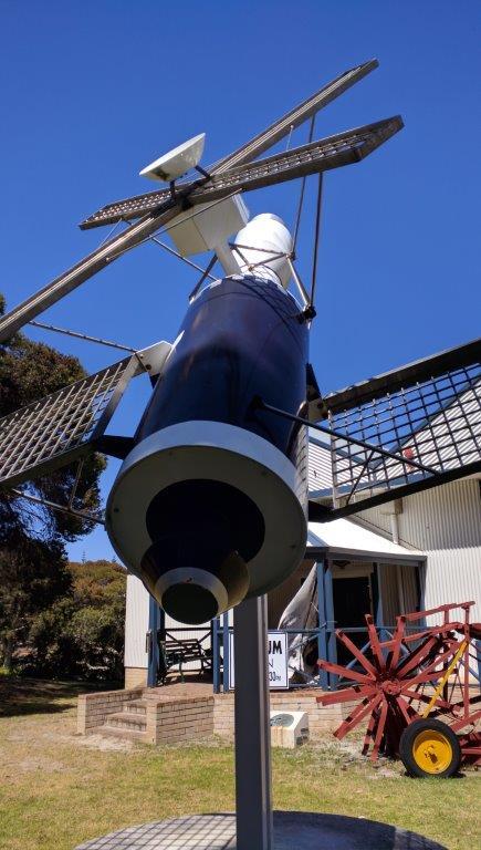 Replica of Skylab that fell near Balladonia in 1979