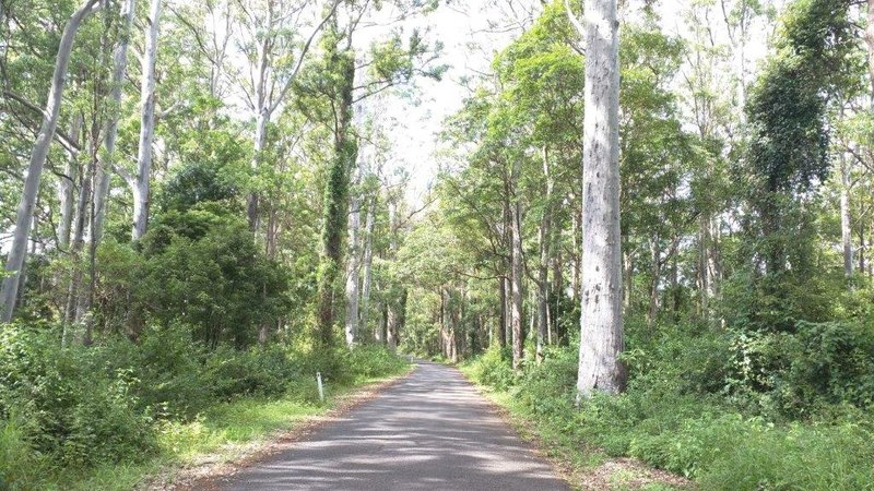 Road from Esk to Toowoomba