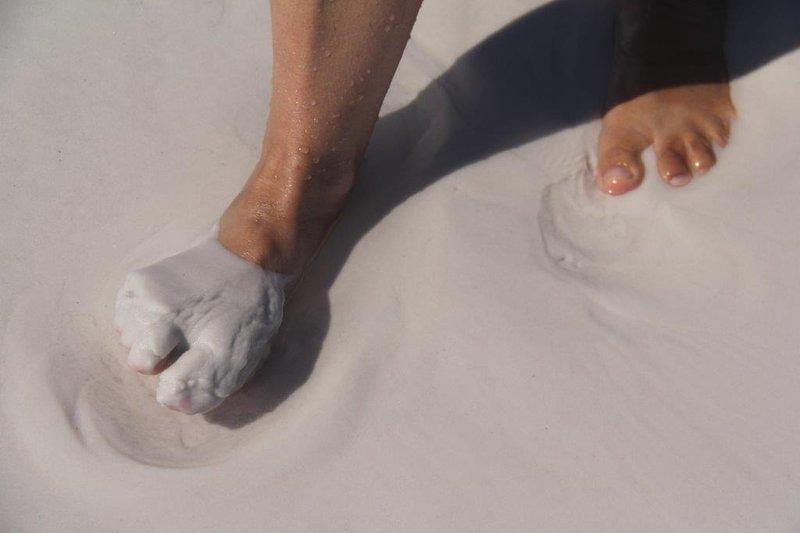 Softest sand even