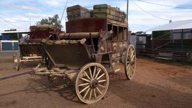 Streets are wide enough to turn stagecoaches around