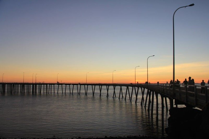 Sunset at the wharf