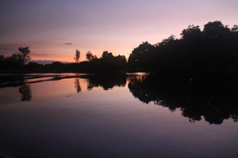 Sunset over Coroborre billabong