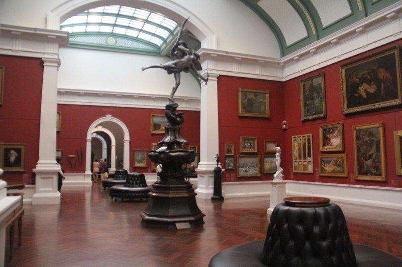 The art galley of South Australia was great