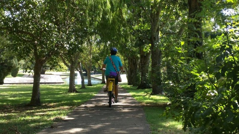 Toowoomba many garden cycle routes - Gowrie Creek