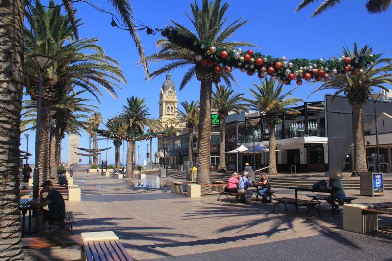 Town Hall next to the beach in Glenelg
