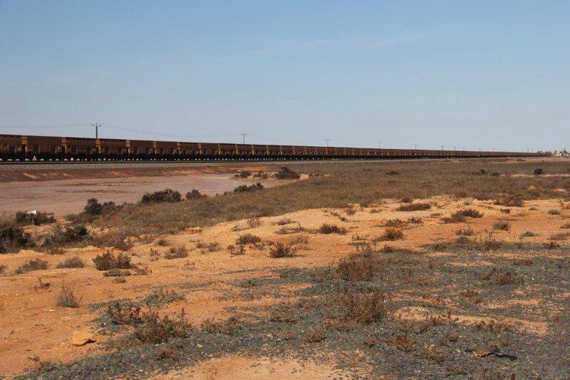 Train 3 km long