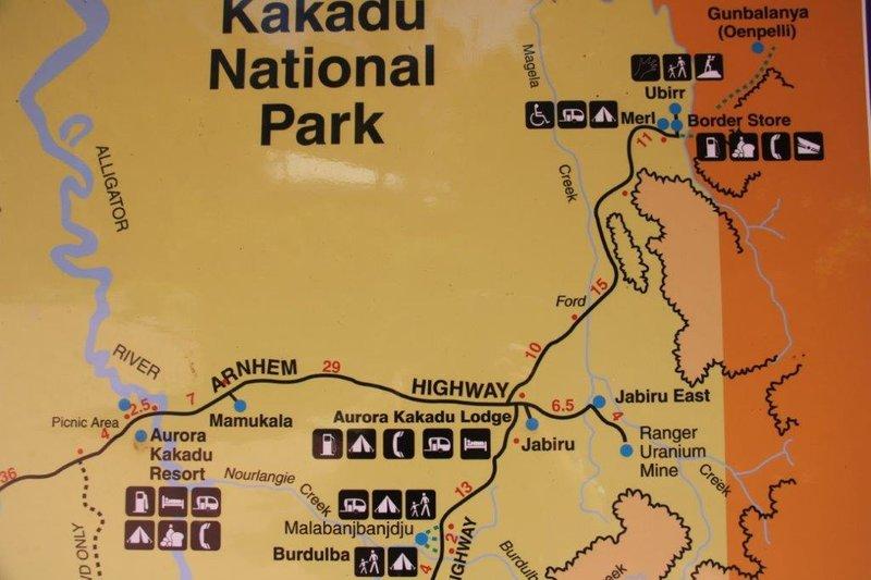 Ubirr in north of Kakadu National Park