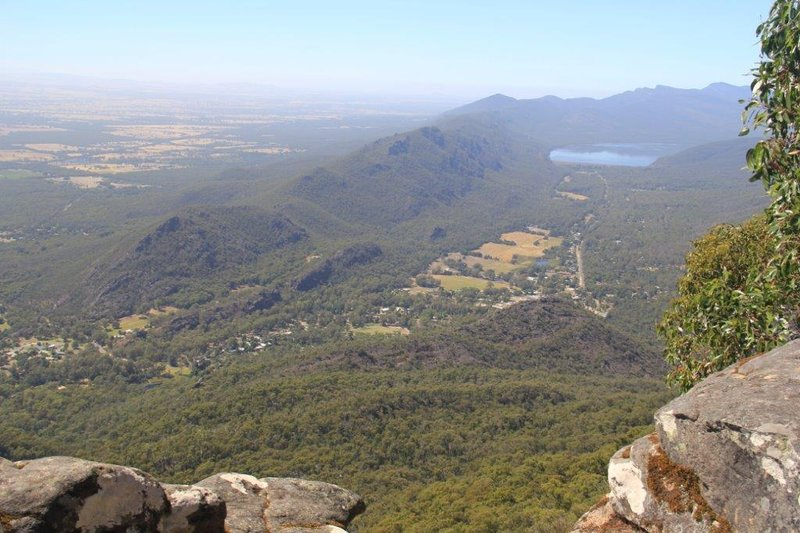 View from Boroka to Bellfield Lake