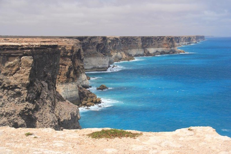 Views across the Bight are spectacular