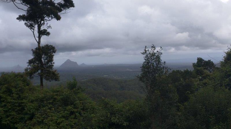 Views from near Montville to Glass House Mountains