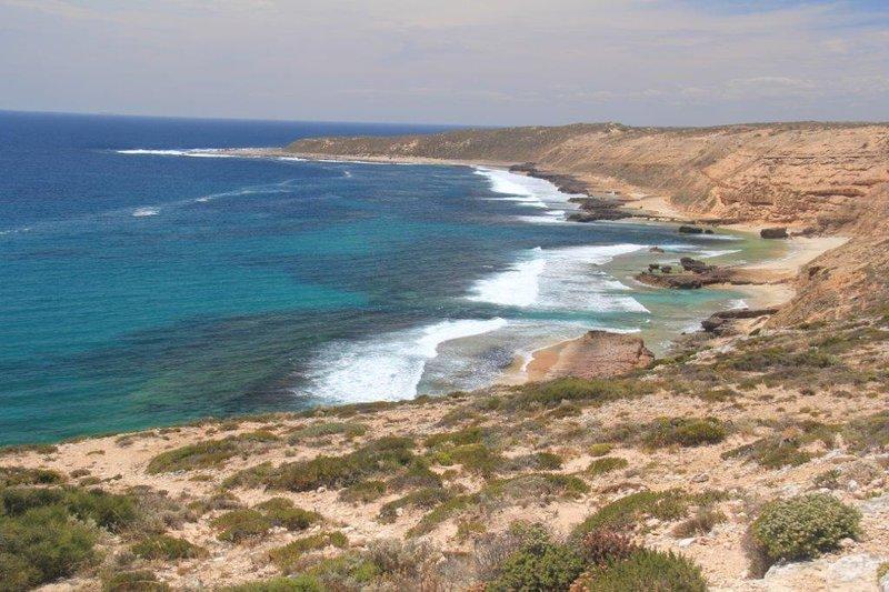 Views of the coastline around Streaky Bay