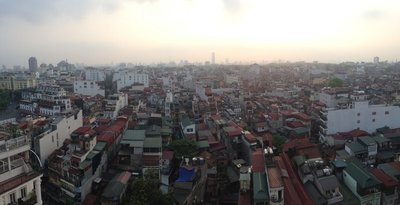 Beautiful Hanoi from Skyline Bar