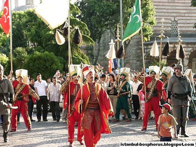 Mehteran, Ottoman Military Band, Istanbul, Turkey