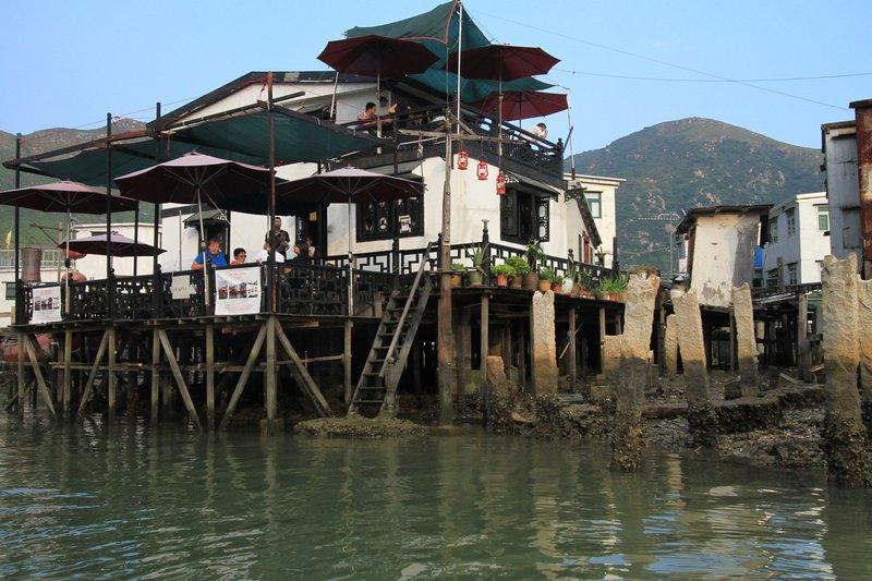 Stilt houses, Tai O Fishing Village, Lantau Island, Hong Kong