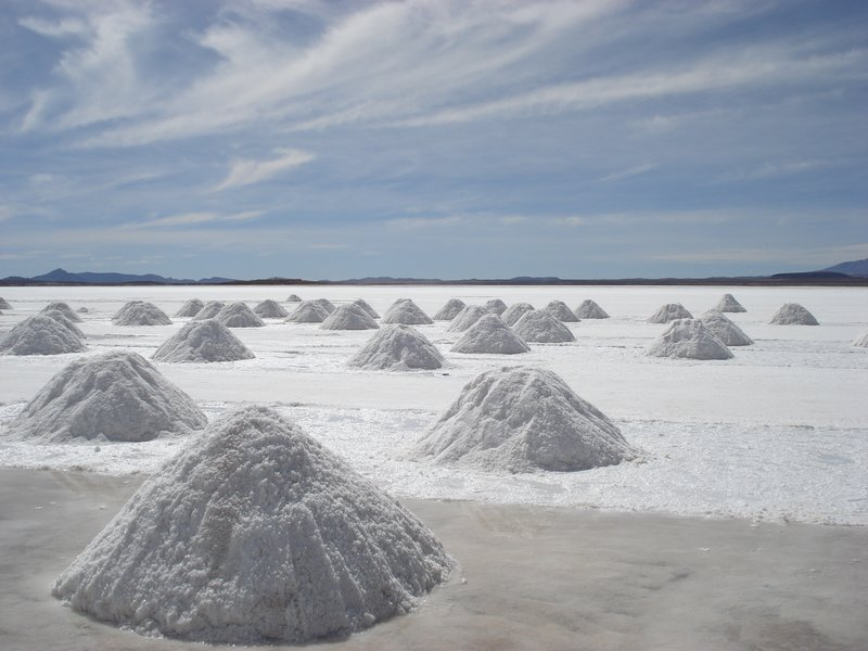 Salt mounds
