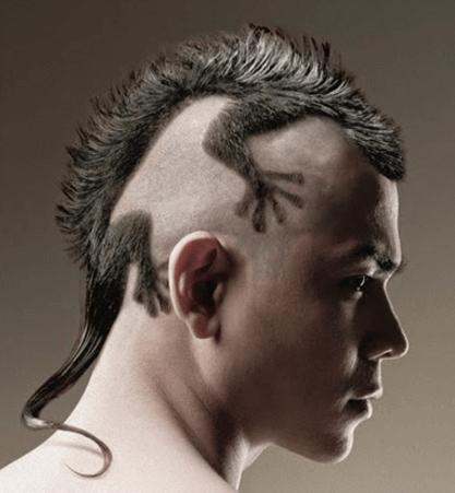01 gaya rambut pria