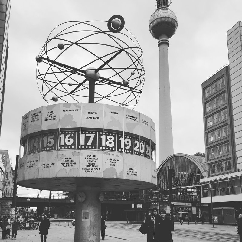 The world clock, Alexanderplatz