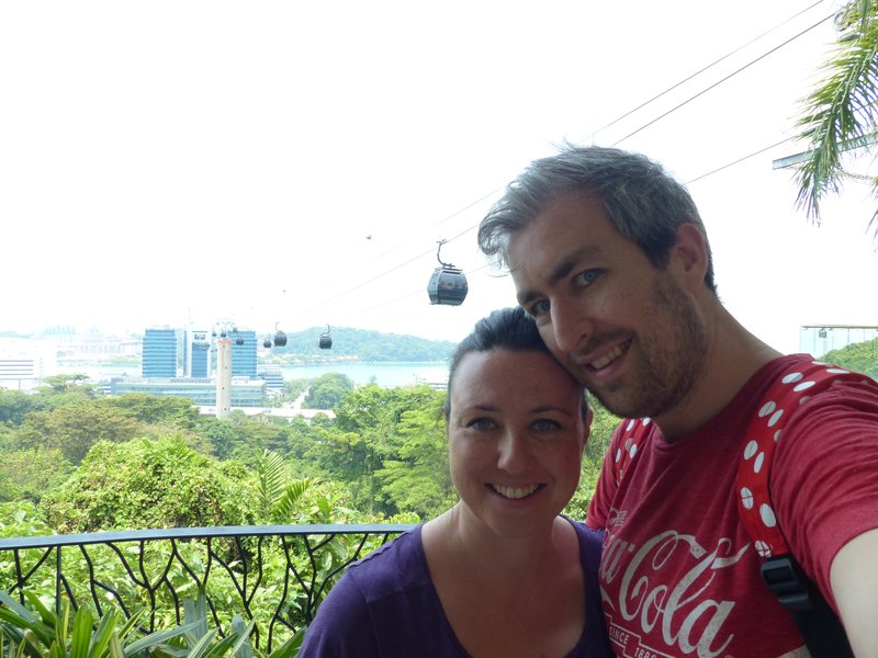 At Faber Peak, the top of the cable car ride