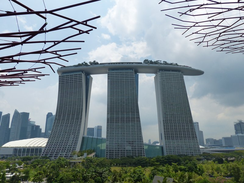 ^ The Marina Bay Sands from the back