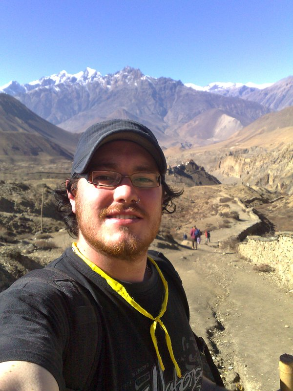 Trekking To Muktinath Annapurna range Nepal