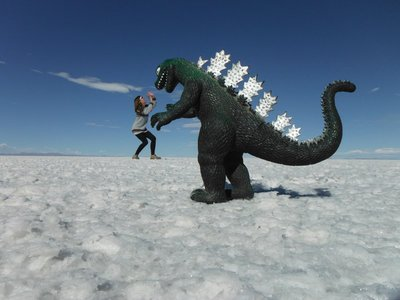 Obligatory Godzilla photo
