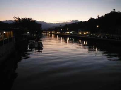 Beautiful little Paraty sunset