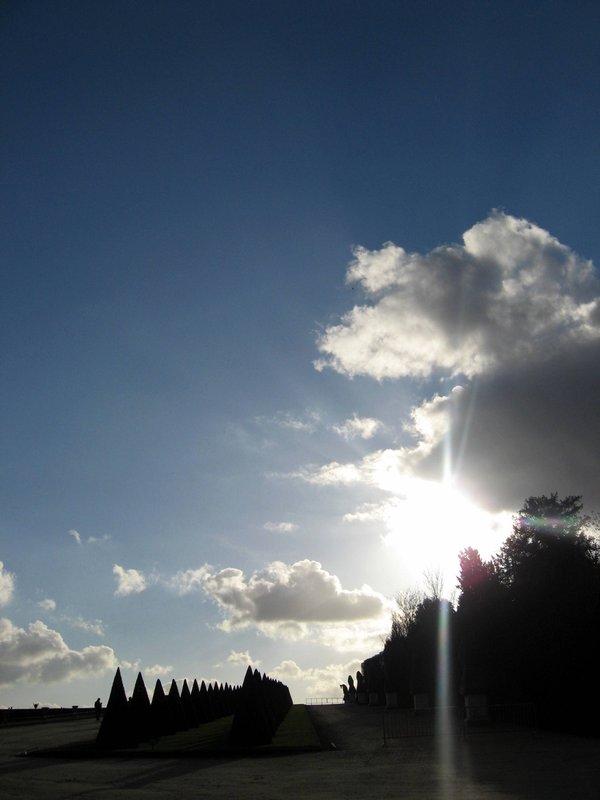 Clouds at Versailles
