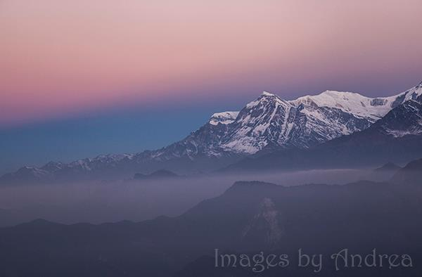 Annapurna Range at Sunrise