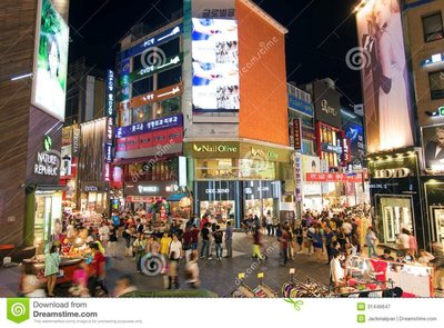 myeongdong-shopping-street-seoul-south-korea-night-31446647