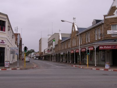 South Africa - an ordinary town main street 2013